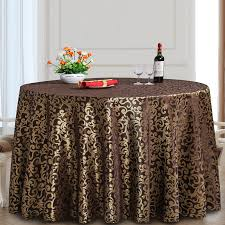 round table cloth covers polyester round tablecloth rectangular dining table cloth hotel