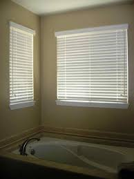 dining room bay window for white wooden venetian blinds with curtains emmaus dining room