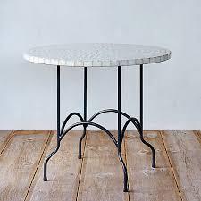 Mosaic Patio Tables Marble Mosaic Patio Table Terrain