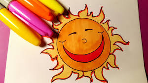 coloring pages sun kids learn to color videos youtube