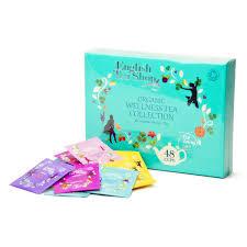 organic wellness tea collection 48 bags 6 aromas tea shop