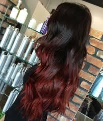 Frisuren Mittellange Haar Rot by Ombre Haare Färben Ideen Für Ombre Blond Brünett Und Bunte