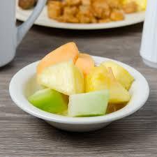 carlisle kl80070 kingline 5 oz adobe rimmed fruit bowl 48 case