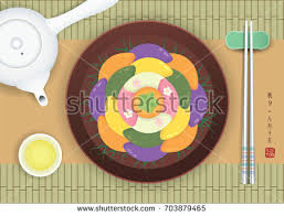 chuseok hangawi korean thanksgiving day korean stock vector