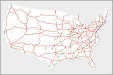map us interstate system map of united states usa roads highways interstate system travel