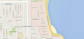 Map Chicago by Chicago U0027s Gold Coast Neighborhood Map