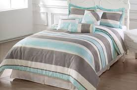 Grey King Size Comforter Set Brilliant Cal King Size Bedding 104 X 92 7 Pieces Bachelor Comforter Set In Blue And Gray Comforter 500x329 Jpg