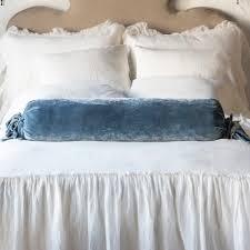 bolster bed pillows bella notte loulah bolster pillow lou759 luxury bedding