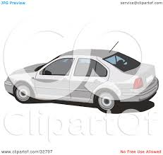 car volkswagen side view clipart illustration of a side view of a white volkswagen jetta