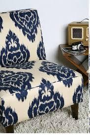 Ikat Armchair Urban Outfitters Indigo Ikat Slipper Chair Copycatchic