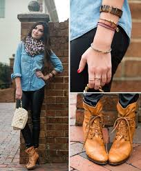 20 style tips on how to wear a chambray shirt denim tips gurl com