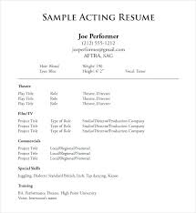 resume for exle excel for mac free trial word excel acting resume
