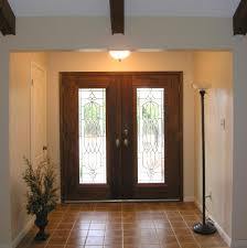 adorable double front doors for homes with white smooth wooden and