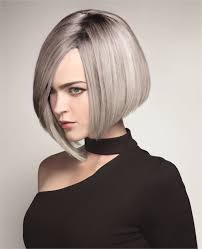 silver hair a rooted in silver look from truss hair color