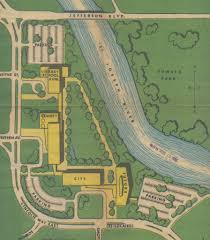 St Joseph River Map Never Built South Bend What Downtown Could Have Looked Like