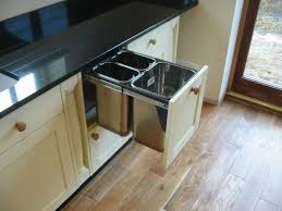 under sink trash pull out pull out trash can under sink sink ideas