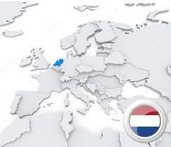 netherland map europe netherlands on map of europe stock photo kerdazz7 29046285