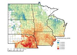 Upper Midwest Map From Space To The Field Farmers Test New Technology To Better