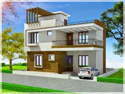 Triplex House Plans Kerala House Plan Kerala House Elevation At 2991 Sqft Flat Roof