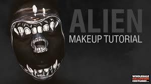wholesale halloween com alien makeup tutorial whcdoessfx ft caitlyn kreklewich youtube