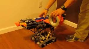 nerf remote control tank fully automatic nerf tank w drum mag technic power functions