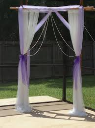 Wedding Arch Ladder Bamboo Ladders Ladder And Purple On Pinterest