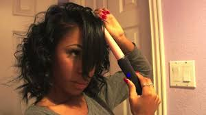 easy curling wand for permed hair get ready with me how to curl hair with a curling wand youtube