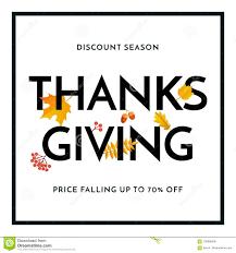 thanksgiving sale web banner vector september shopping promo maple