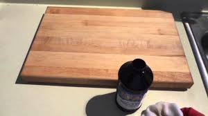 natural cutting board oil an alternative to mineral oil youtube