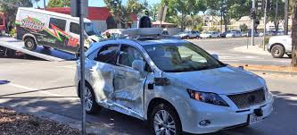 google halloween game ending google u0027s self driving car is the victim in a serious crash