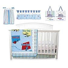 Dr Seuss Crib Bedding Sets Trend Lab Dr Seuss One Fish Two Fish Crib Bedding Collection