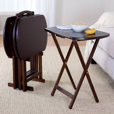 Folding Tray Table Set Folding Tv Tray Table Set Folding Table Design