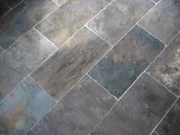slate tile floor display new jersey custom tile