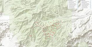 Wildfire Map Noaa by Mount Charleston On Fire U2013 Carpenter 1 Wildfire Update 7 22 Pm 7