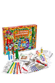 crayola christmas countdown advent calendar myer online