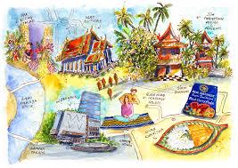 Bangkok Map To Whoever U0027s Bangkok Bound A Vignettist