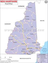 Road Map Usa by Road Map New Hampshire Usa Maps Of Usa