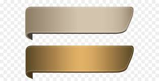 brown ribbon ribbon gold clip brown transparent banners set png clipart