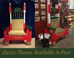 santa chair rental reindeer bounce house carolers balloon artists