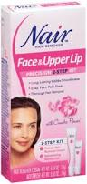 review ingredients nair hair remover face upper lip shower