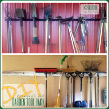 Garage Tool Organizer Rack - diy tool rack diy project