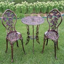 Cast Iron Patio Furniture Sets by Bistro Set Patio Furniture Pub Cast Iron Balcony Terrace Garden
