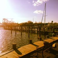harbor docks in the village of patchogue ny new york city long