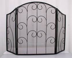 makeovers and decoration for modern homes wrought iron fireplace