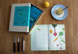 coffret livre de cuisine de la peau au noyau livre de cuisine illustration didactique