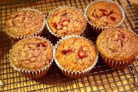 leftover cranberry sauce muffins at cloverhill