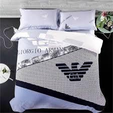 Versace Comforter Sets Armani Fashion Luxury Bedding Sets Versace Lv Cotton Beddings Bed