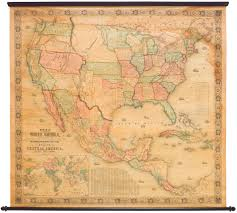 North Western United States Map by 1854 Monk New Map Of That Portion Of North America Exhibiting