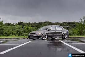 mitsubishi evo stance pasmag performance auto and sound evolution of equivalence