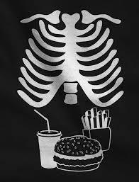 pregnant skeleton halloween costumes amazon com halloween xray skeleton junk food belly xray funny